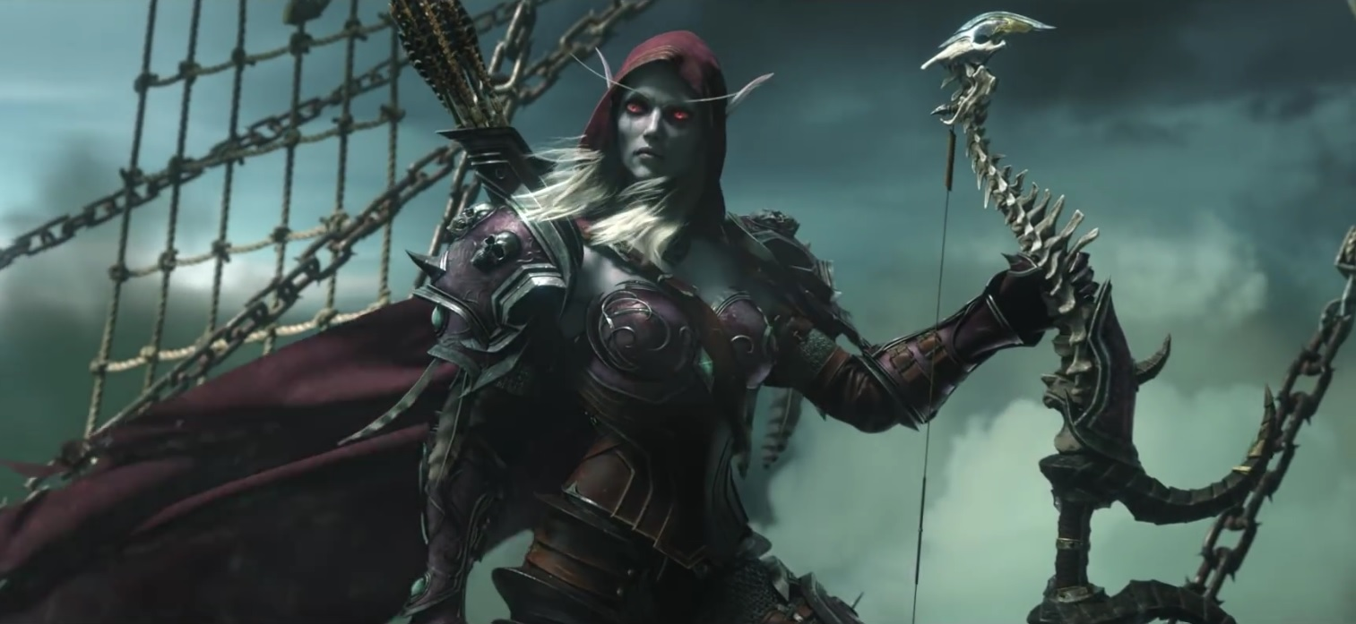 WoW Legion Sylvanas Cinematic