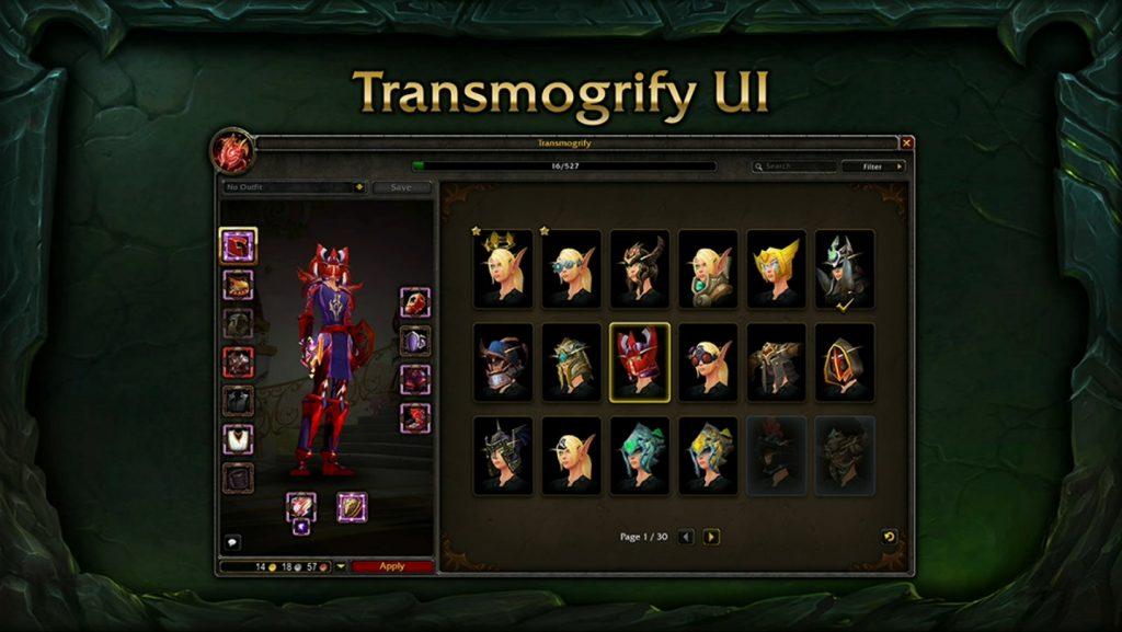 WoW Legion Transmog1