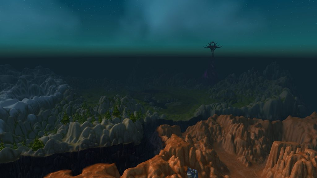 WoW Legion View distance new 1