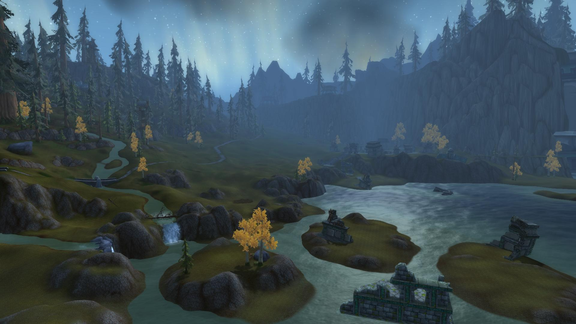 WoW Legion View distance old 2
