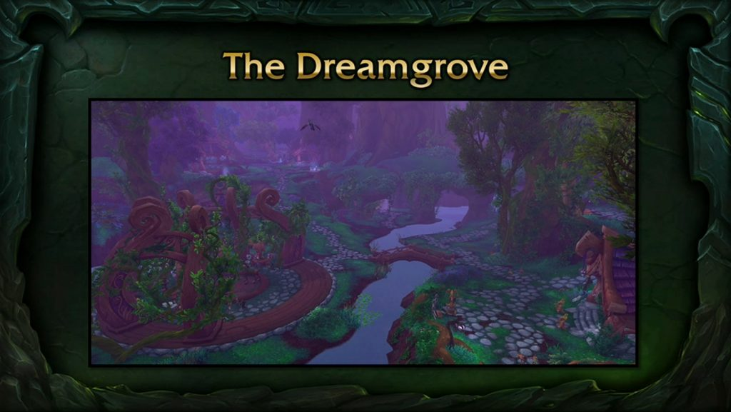 WoW Legion class hall druid dreamgrove
