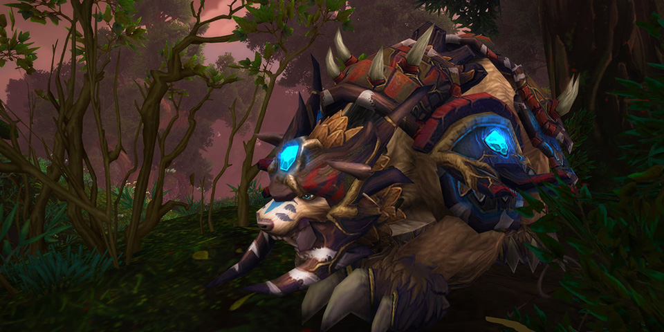 WoW Legion druid bear