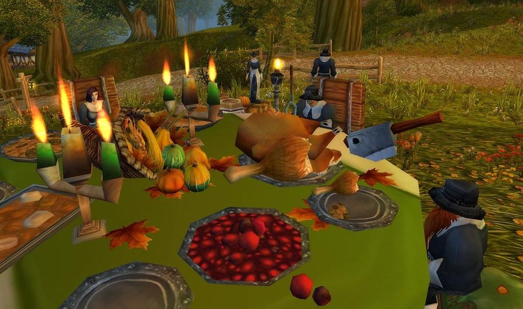 WoW. Pilgerfreuden Tisch
