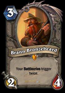 Brann Bronzebart ist das neue Legendary des Flügels.