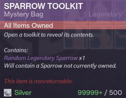 500Sparrow-Paket