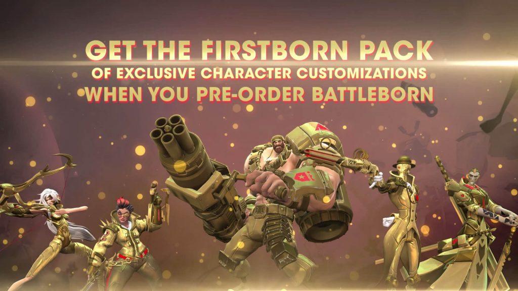 Battleborn Pre Order Skins