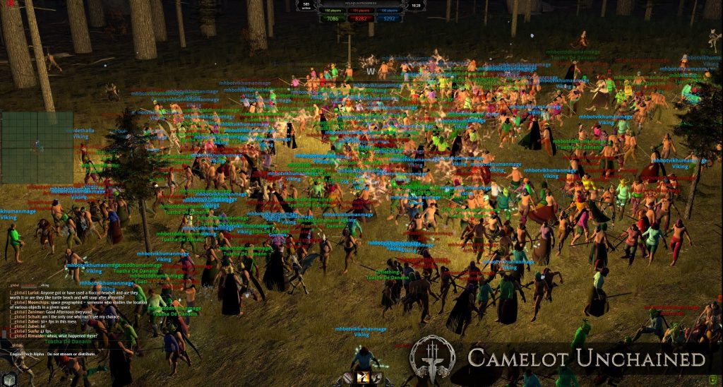 Camelot Unchained Massenschlacht