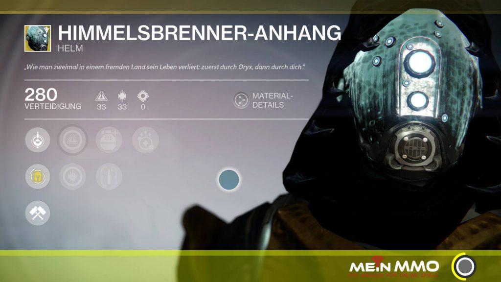 Destiny-Himmelsbrenner-Anhang