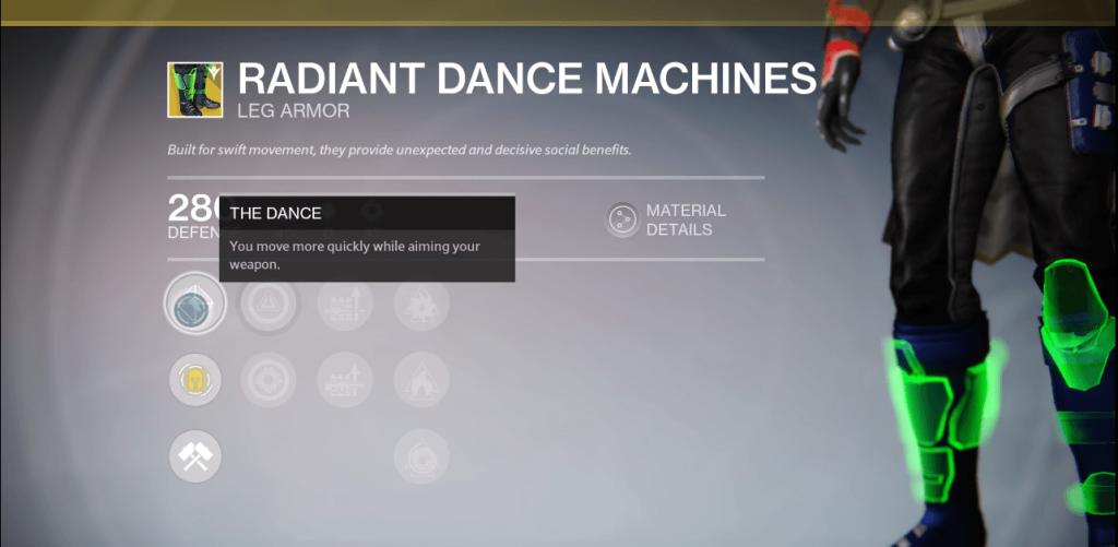 Destiny-Tanzmaschienen