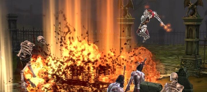 Devilian Berserker Action