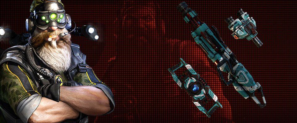 Evolve: Neuer, kostenloser Charakter – Tech Sergeant Hank!
