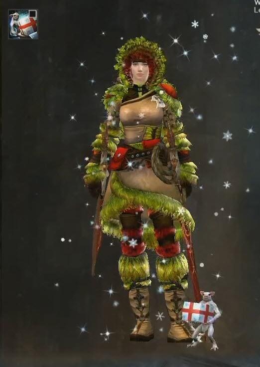 Guild Wars 2 Wintertag Skritt