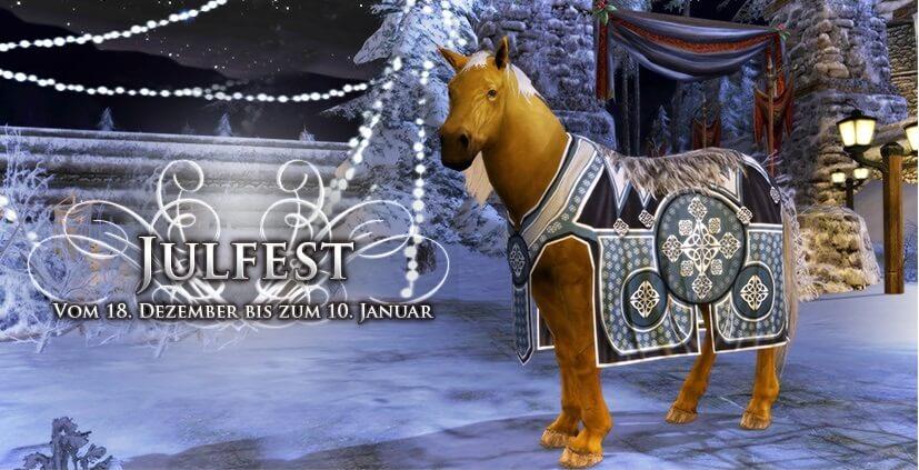 HDRO Julfest 2015 Horse