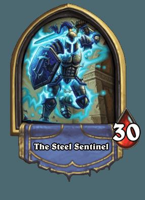 Hearthstone Forscherliga Boss The Steel Sentinel