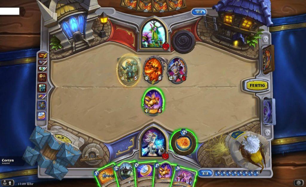 Hearthstone Kartenchaos Deck wechsel dich Gameplay