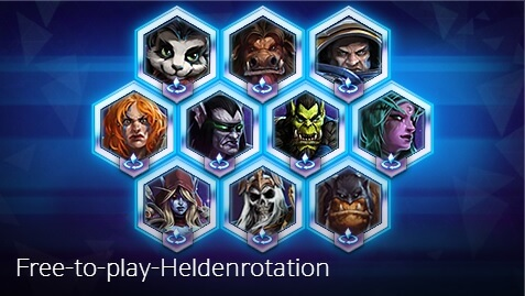 Hots Free2Play Heldenrotation