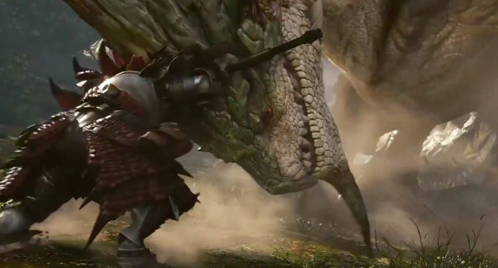 Monster Hunter Online Dragon Headbattle