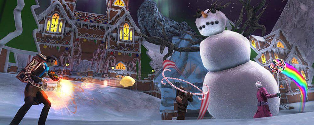 Star Trek Online: Qs Winterwunderland wirkt so, als hätte es Tim Burton zusammenphantasiert