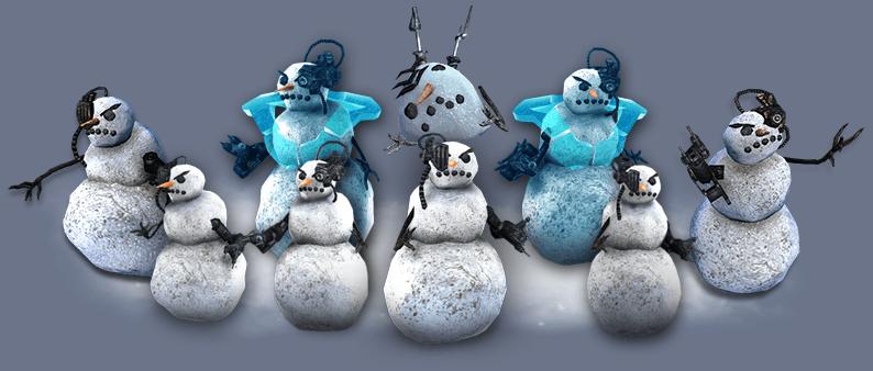 Schnee-Borgs