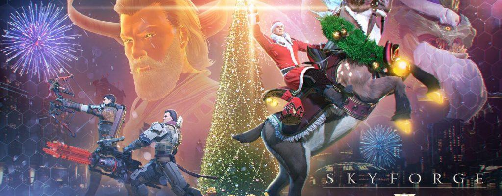 Skyforge: Gewinnt 10 Weihnachts-Pakete mit Team Allods und Mein MMO