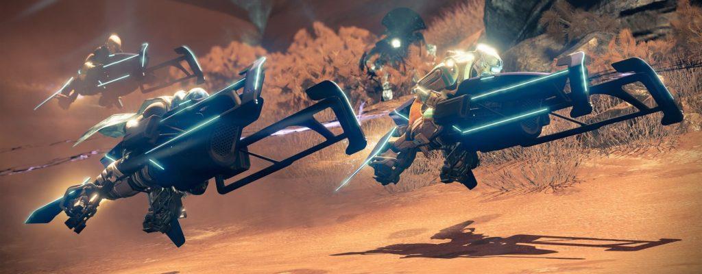 Destiny: Rasen statt schießen – Wie ist das Sparrow-Event?