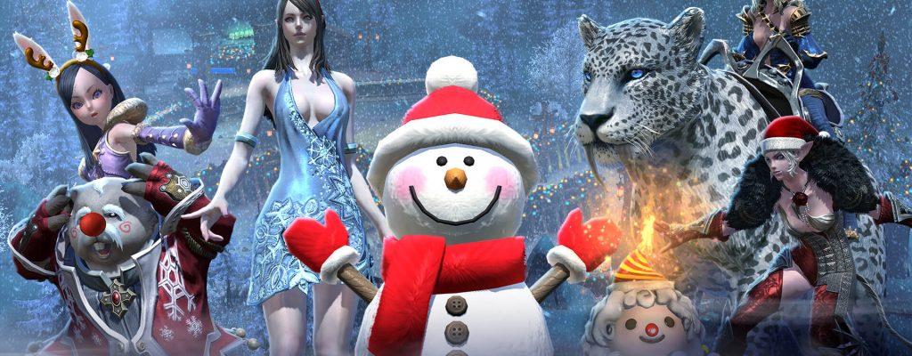 TERA: Schneeballschlacht mit heißen Damen!