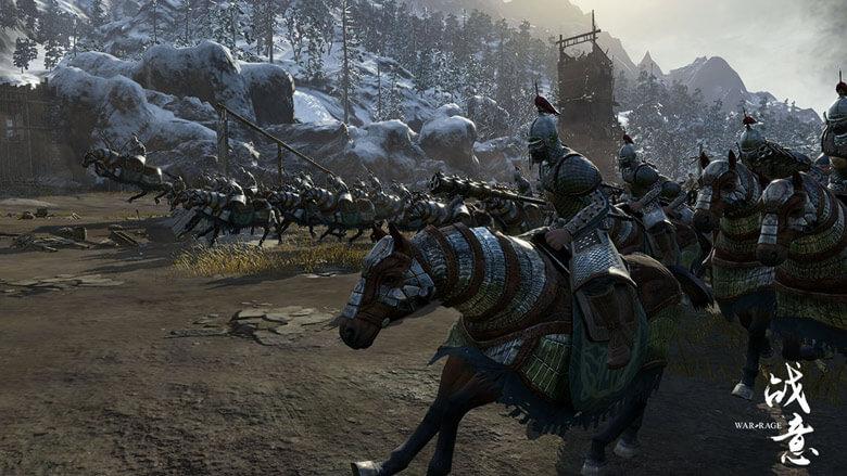 War Rage Cavalry