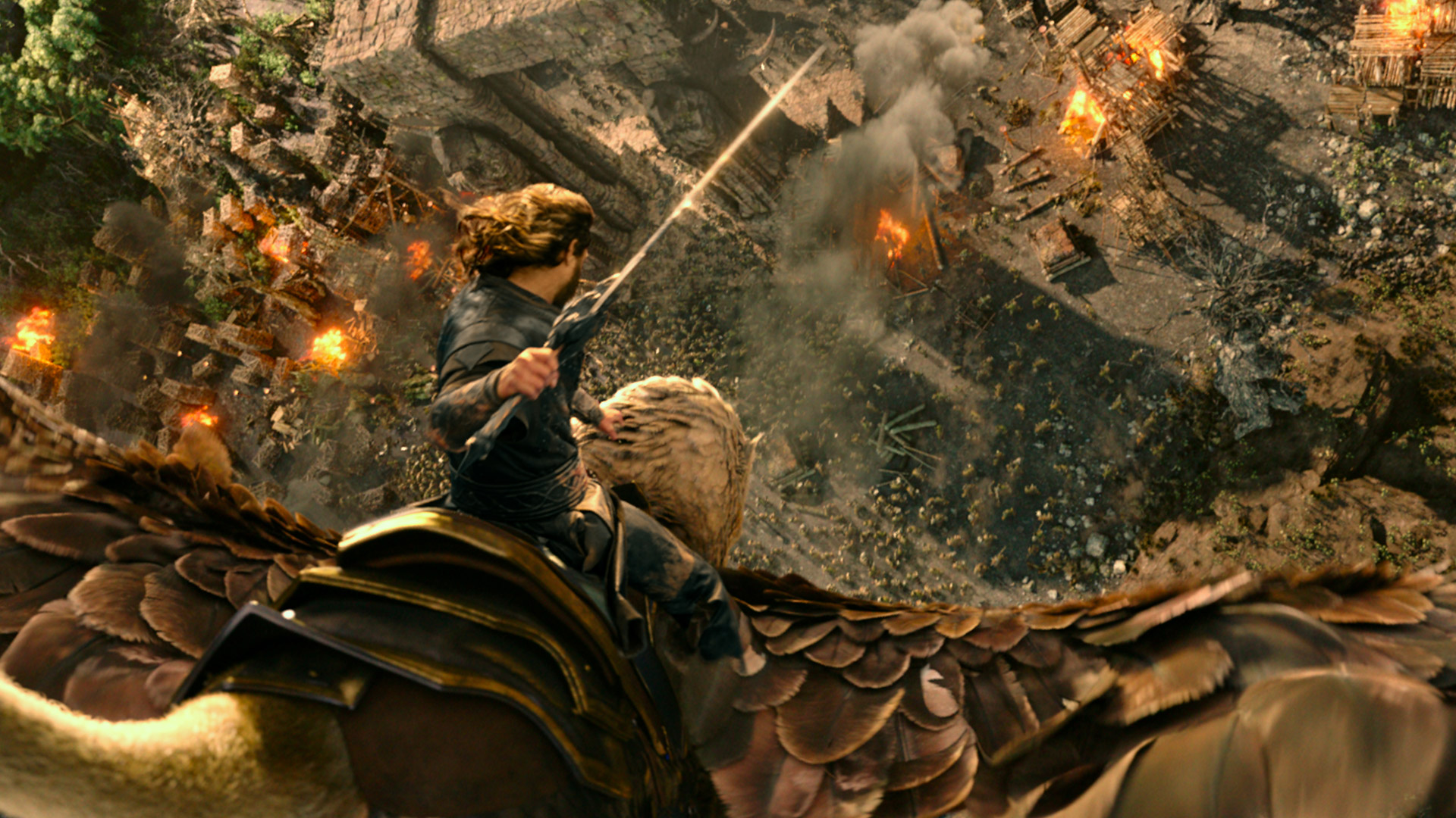 Warcraft Movie Attack at the Portal HD