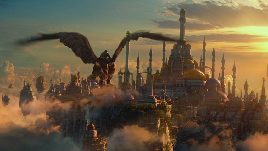 Wohl jeder Spieler erkennt es auf den ersten Blick: Dalaran, Stadtstaat der Magier und Sitz der Kirin Tor.