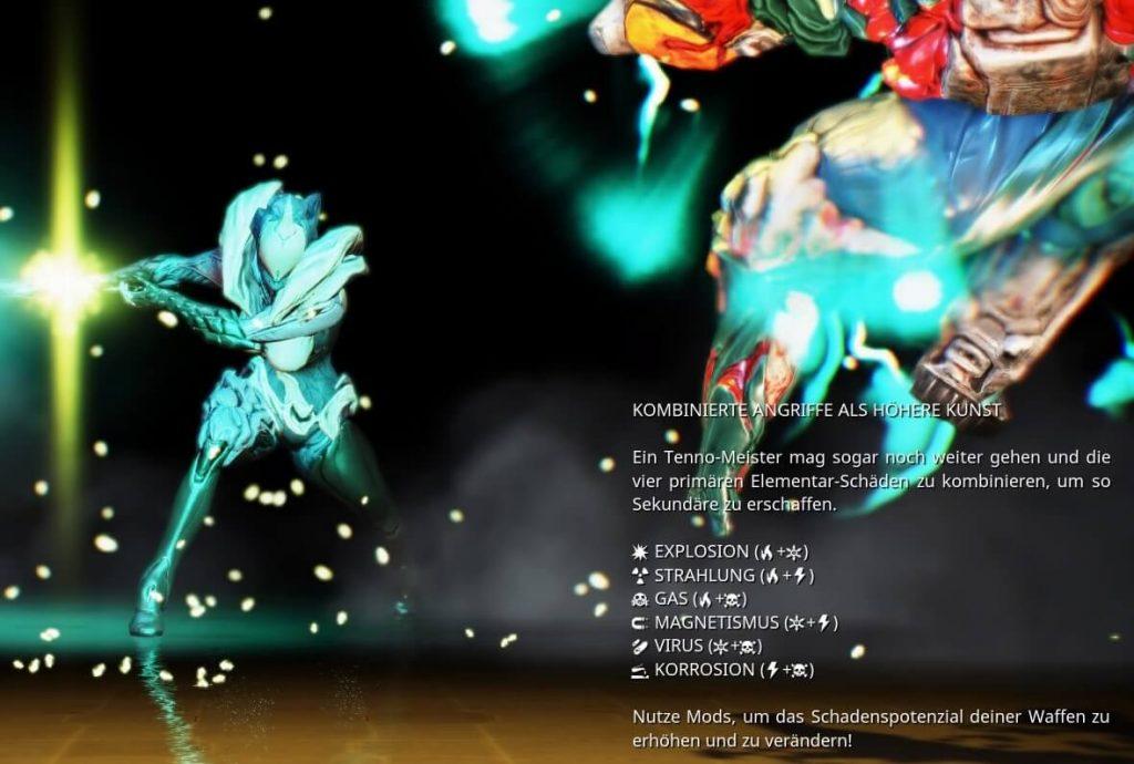 Warframe Element-Mods Kombination