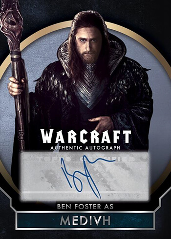 WoW Topps Card Medivh