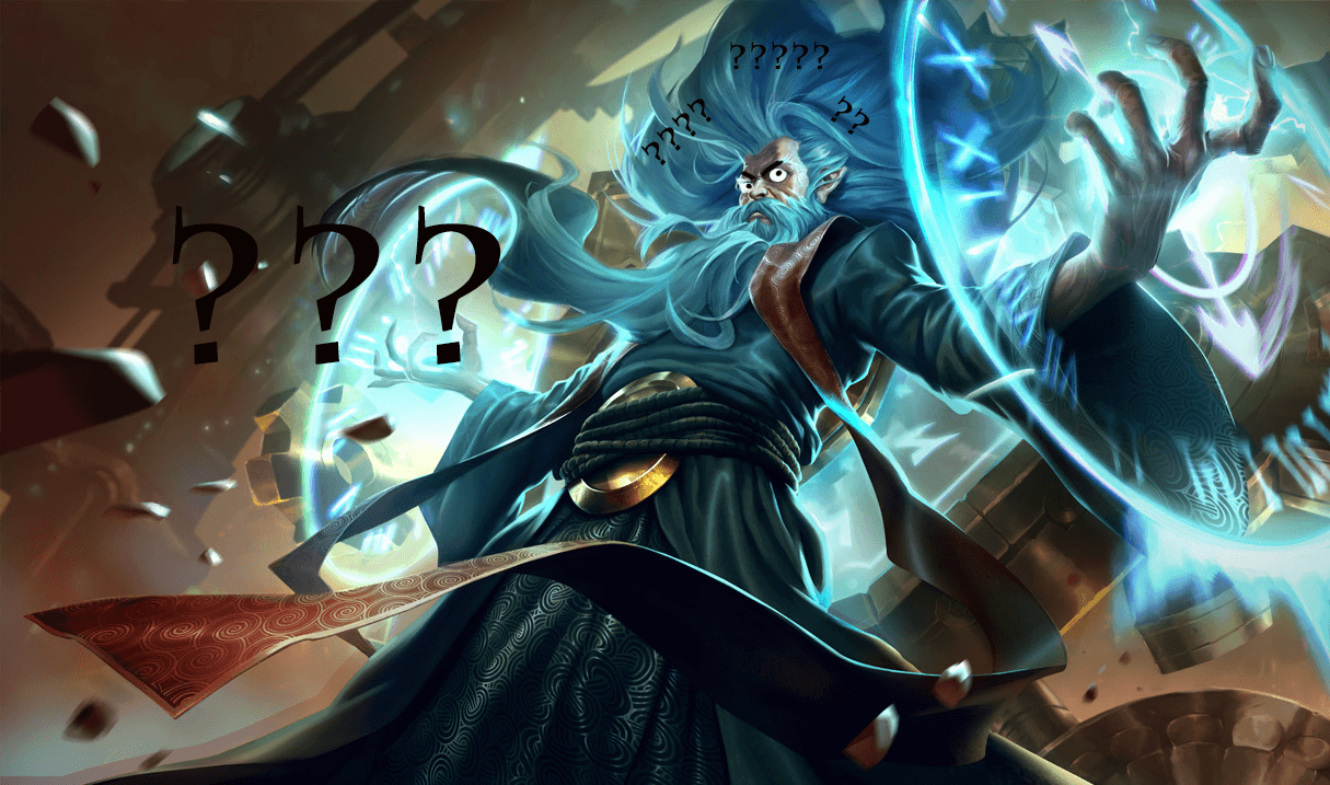LoL Zilean confused