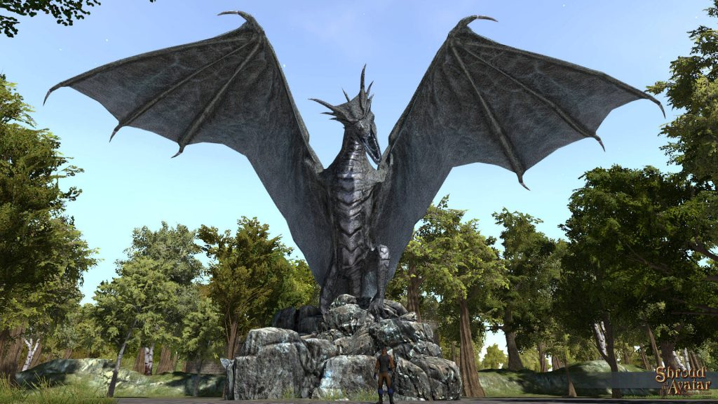 shroud of the avatar drache