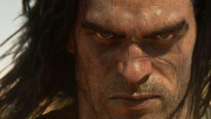 Conan-Gesicht