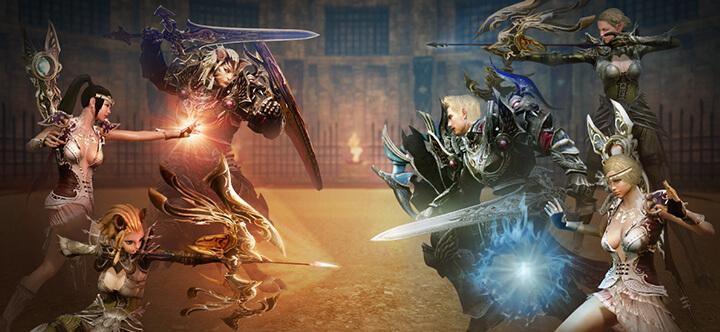 ArcheAge Arena combat
