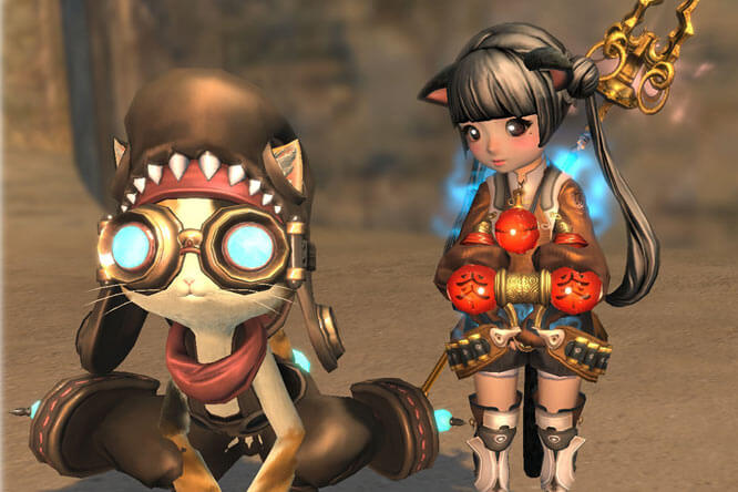 Blade and Soul Catpet