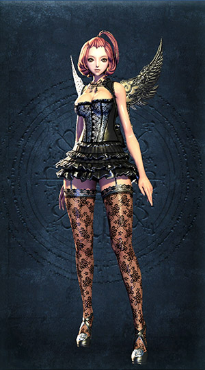 Blade and Soul Costume Dunkler Engel