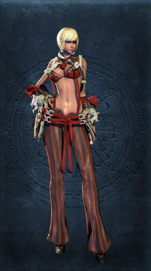Blade and Soul Costume Rote Koenigin