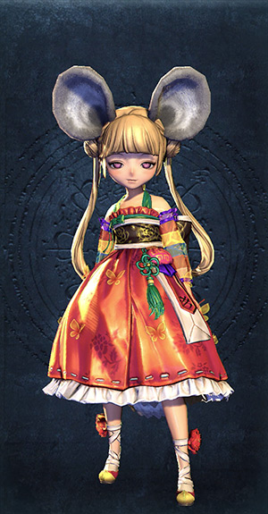 Blade and Soul Costume little girl