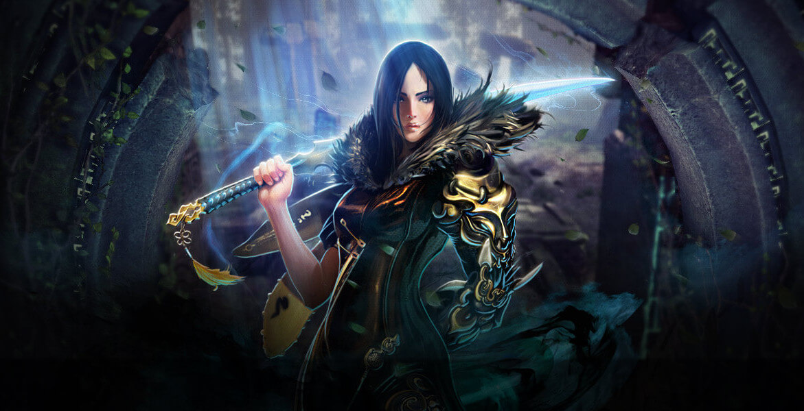 Blade and Soul Female Swordfighter