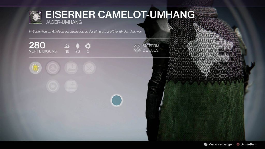 Camelot-Umhang