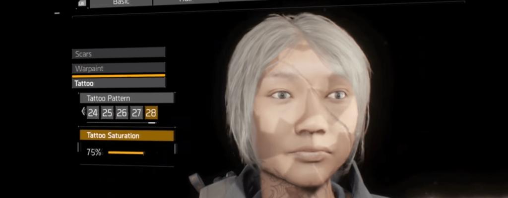 The Division: Die Charaktererstellung – Auswahlmöglichkeiten im Video