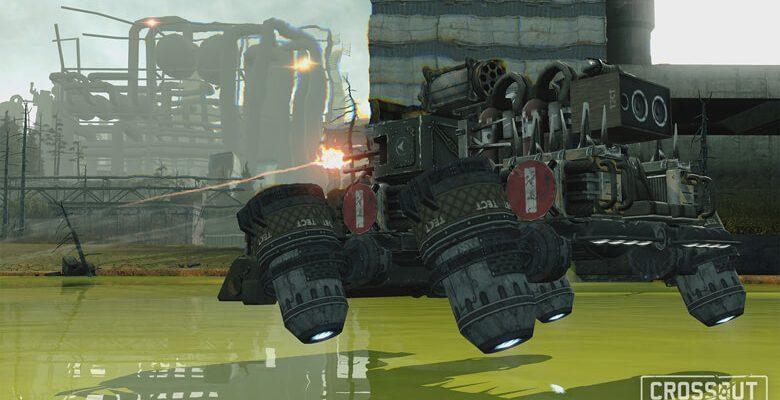 Crossout: Irres Mad-Max-und-Motoren-MMO will Euch in seinem Test