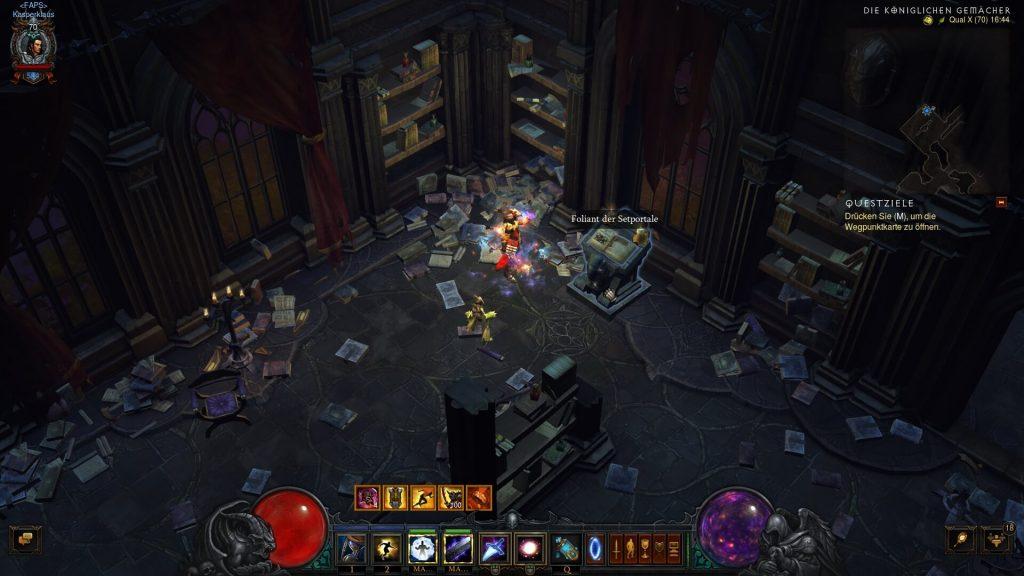 Diablo 3 Setportal Foliant Hinweis