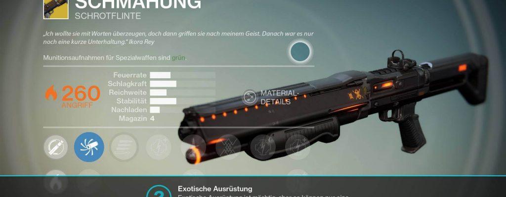 Destiny: Schmähung – Was kann die Schrotflinte in Jahr 2?