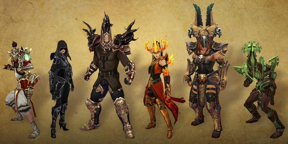 Diablo 3 Build Klassen Sets