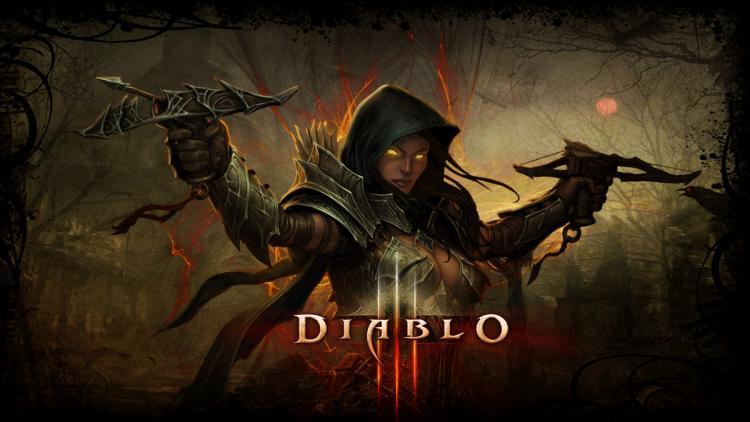 Diablo3-Dämonenjägerin