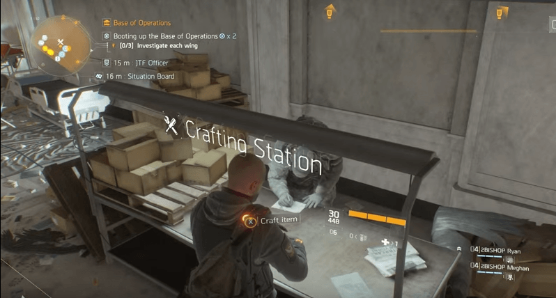Division-Handwerk