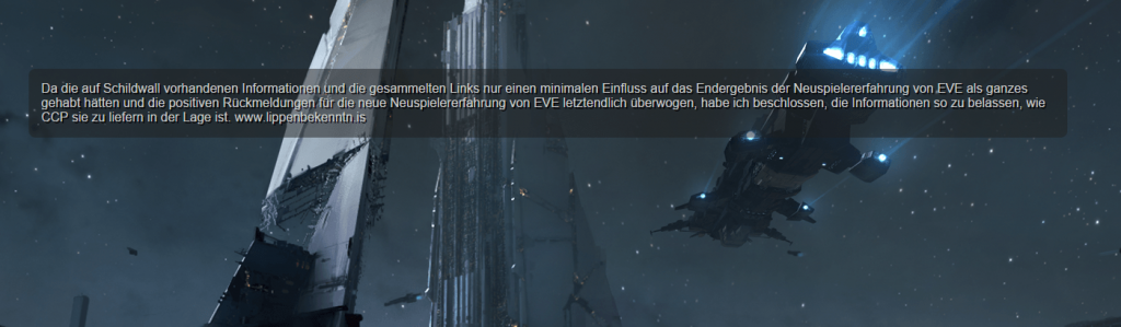 EVE-Nachricht