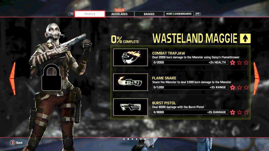 Evolve Wasteland Maggie Mastery